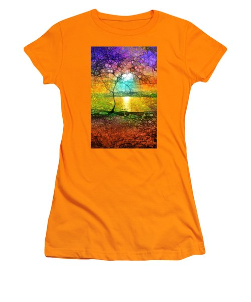 A Light Like Love Women's T-Shirt (Athletic Fit)