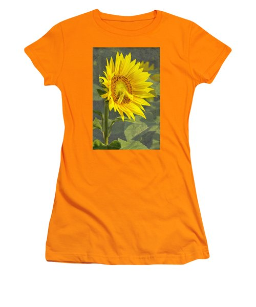 A Sunflower's Prayer Women's T-Shirt (Athletic Fit)