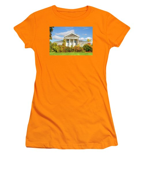 Abandoned Greek Revival Women's T-Shirt (Athletic Fit)