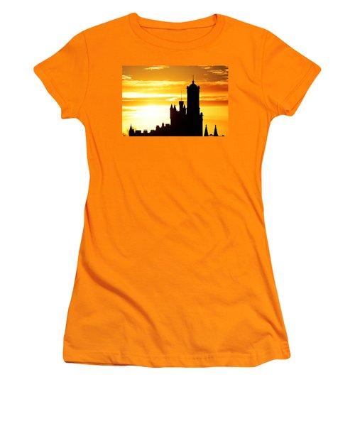 Aberdeen Silhouettes - Landscape Women's T-Shirt (Athletic Fit)