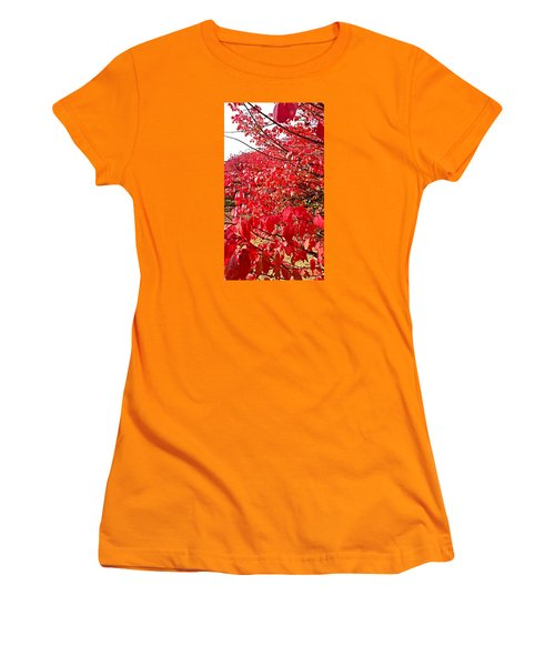 Ablaze Women's T-Shirt (Junior Cut) by Jana E Provenzano