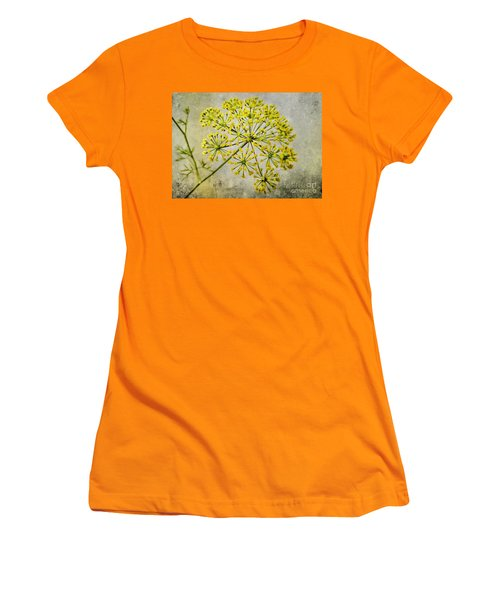 Attractive Dill Blossom  Women's T-Shirt (Athletic Fit)