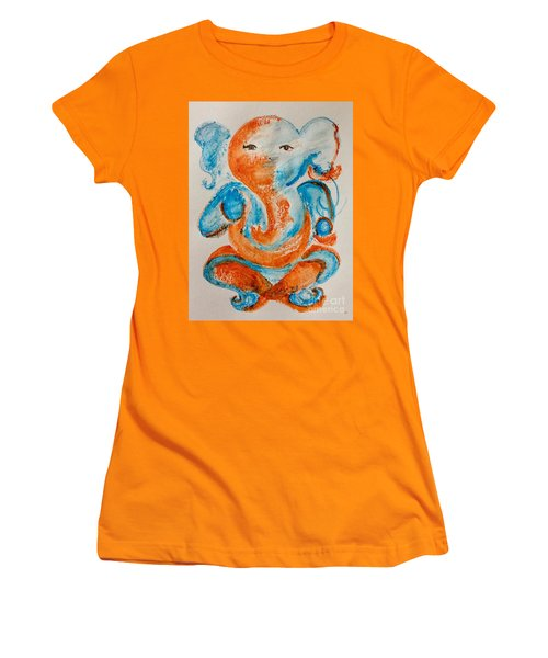 Abstract Ganesha Women's T-Shirt (Athletic Fit)