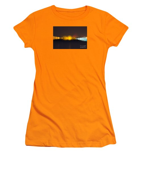 Women's T-Shirt (Junior Cut) featuring the photograph Abstract Light  by Odon Czintos