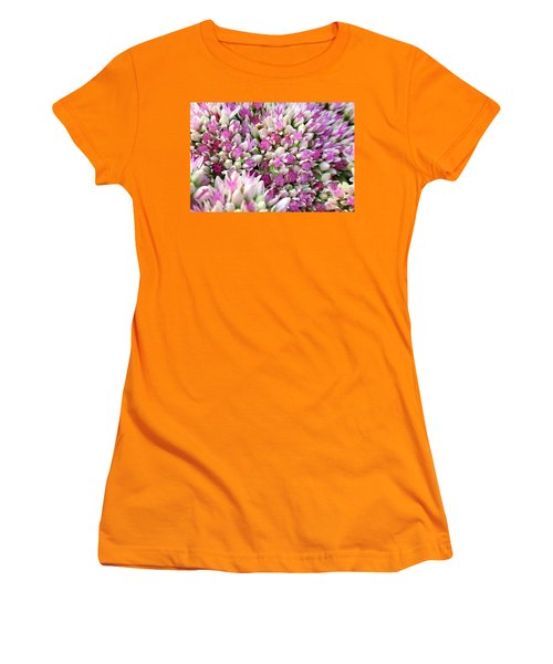 Abstract Sedum Women's T-Shirt (Athletic Fit)