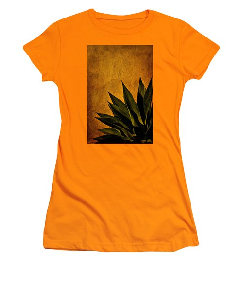 Adobe And Agave At Sundown Women's T-Shirt (Junior Cut) by Chris Lord