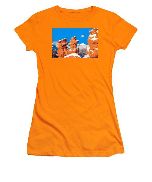 Adroa, The Creator God Of Uganda Women's T-Shirt (Junior Cut) by Bijan Pirnia