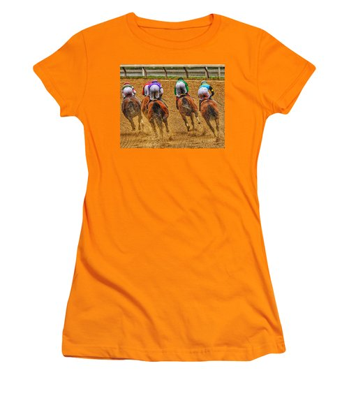 After The Turn Women's T-Shirt (Athletic Fit)