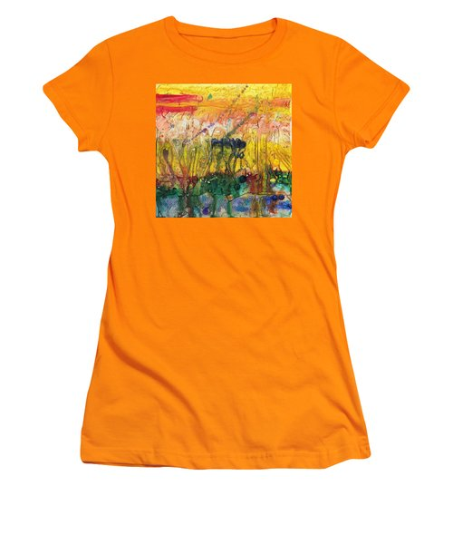 Agriculture Women's T-Shirt (Junior Cut) by Phil Strang