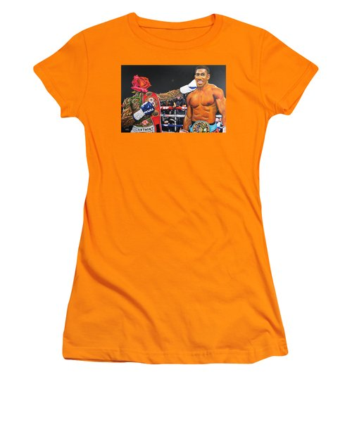 Aj Omo Oduduwa The World Champion Women's T-Shirt (Athletic Fit)