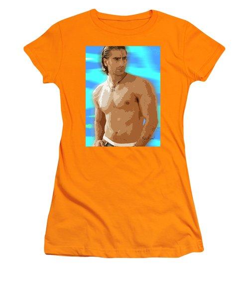 Alejandro Fernandez Women's T-Shirt (Junior Cut) by John Keaton