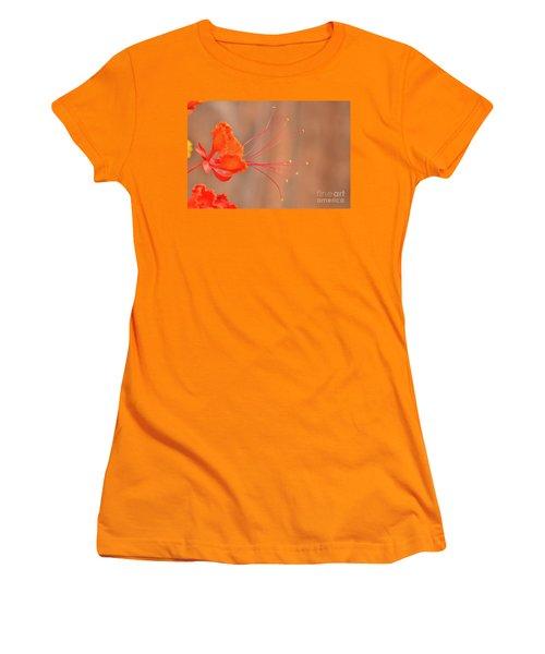 Alien Flower Women's T-Shirt (Athletic Fit)