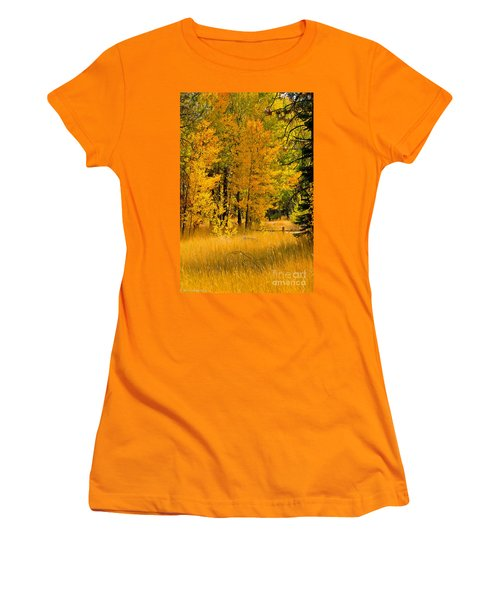 All The Soft Places To Fall Women's T-Shirt (Junior Cut) by Mitch Shindelbower