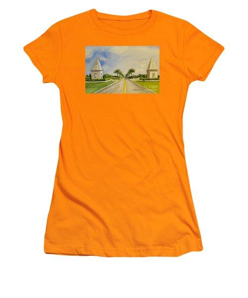 Alys Beach, Florida Women's T-Shirt (Athletic Fit)