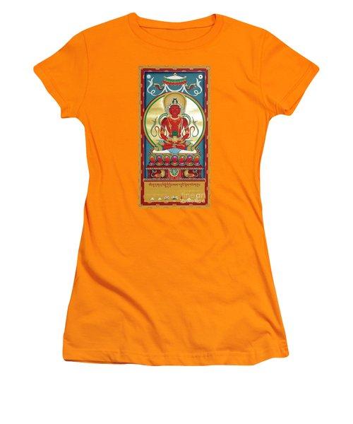 Amitayus Women's T-Shirt (Athletic Fit)