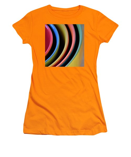 And A Dash Of Color Women's T-Shirt (Junior Cut) by John Glass