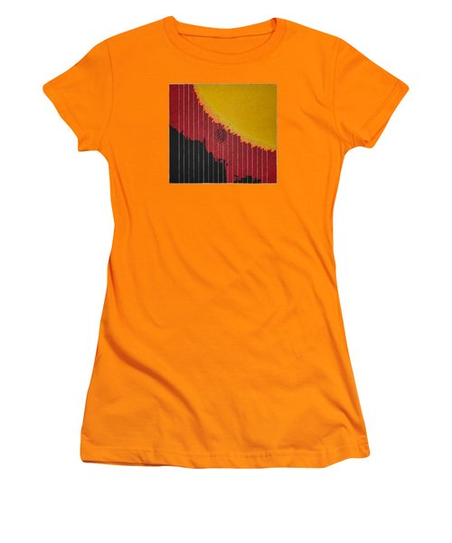 Anomaly At The Sun Women's T-Shirt (Athletic Fit)