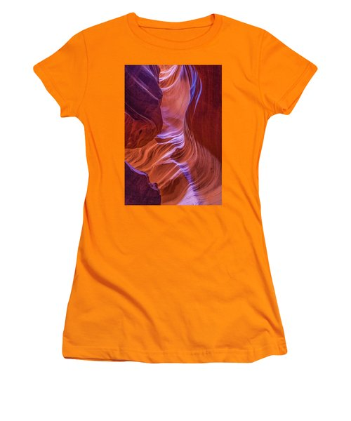 Antelope Canyon Beauty Women's T-Shirt (Athletic Fit)