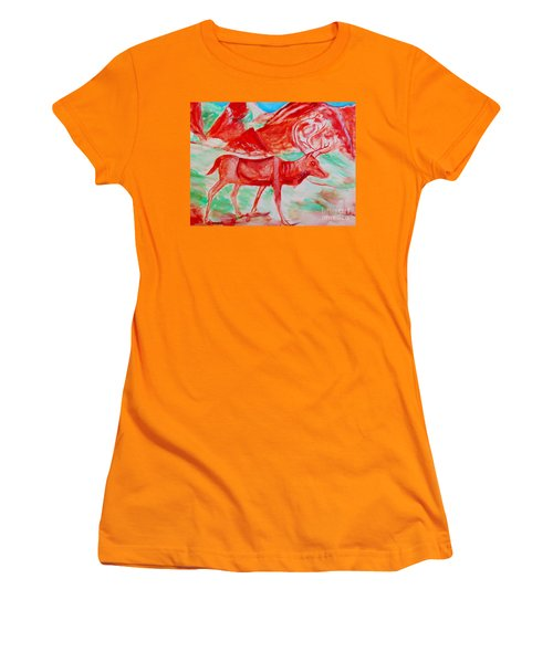 Antelope Save Women's T-Shirt (Athletic Fit)