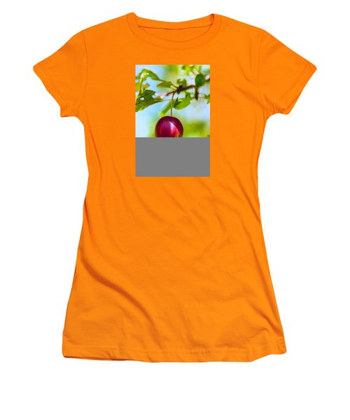 Women's T-Shirt (Junior Cut) featuring the photograph  Crab Apple by Constantine Gregory