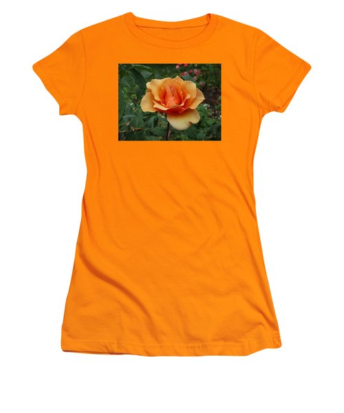 Apricot Rose Women's T-Shirt (Athletic Fit)