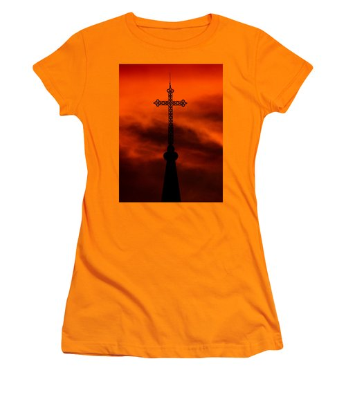 Armageddon The Wrath Of Hurricane Irma Women's T-Shirt (Athletic Fit)