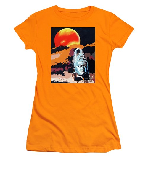 Artistic Vision Of The Almighty Women's T-Shirt (Athletic Fit)
