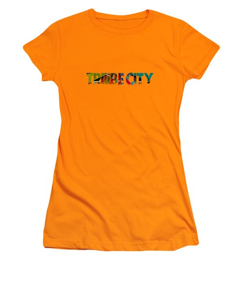 Tribe Lives Women's T-Shirt (Junior Cut) by Chief Hachibi