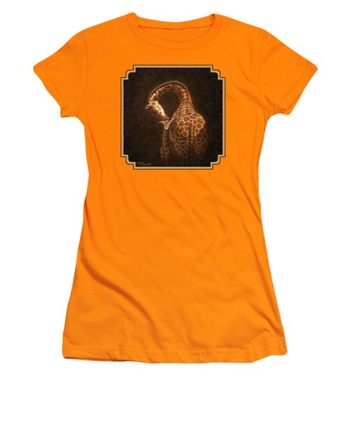 Love's Golden Touch Women's T-Shirt (Junior Cut) by Crista Forest