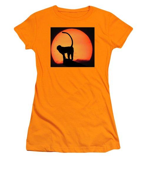As The Day Ends Women's T-Shirt (Junior Cut) by Martin Newman