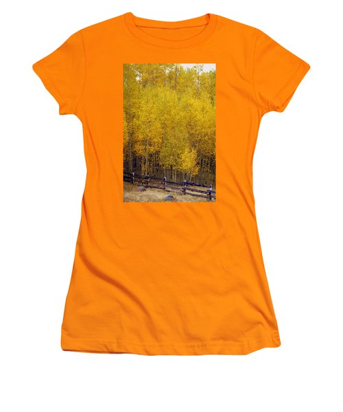 Aspen Fall 2 Women's T-Shirt (Athletic Fit)