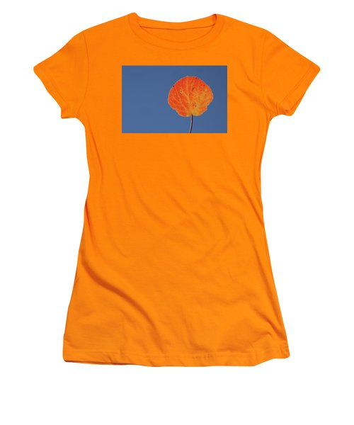 Aspen Leaf 1 Women's T-Shirt (Athletic Fit)