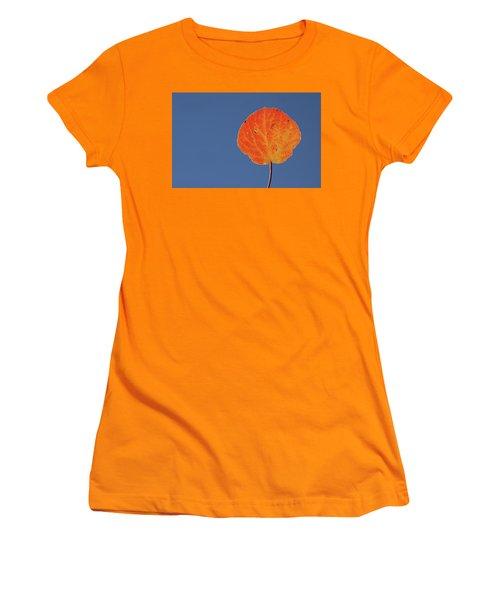 Aspen Leaf 1 Women's T-Shirt (Athletic Fit)