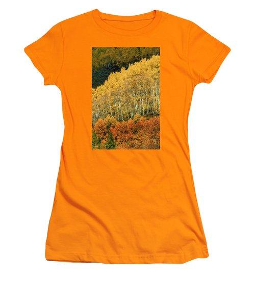 Aspen Waves Women's T-Shirt (Athletic Fit)