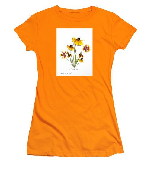 Asteraceae Women's T-Shirt (Athletic Fit)