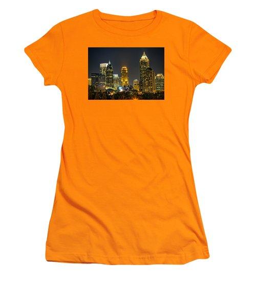 Atlanta Skyscrapers  Women's T-Shirt (Junior Cut) by Anna Rumiantseva