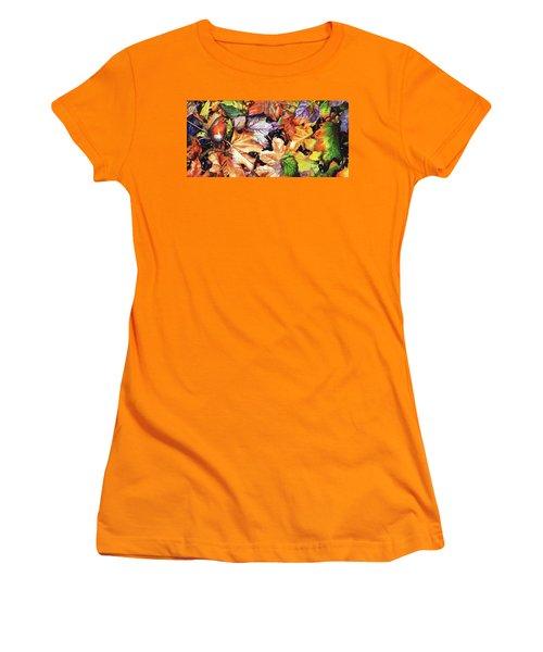 Autumn Blaze Women's T-Shirt (Athletic Fit)