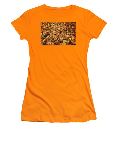 Autumn Carpet Women's T-Shirt (Athletic Fit)