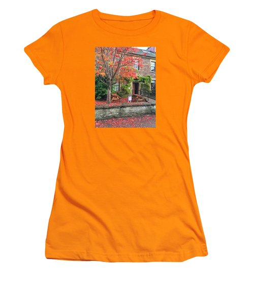 Autumn In Dunblane Women's T-Shirt (Junior Cut) by RKAB Works