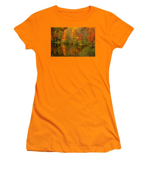 Autumn In Monroe Women's T-Shirt (Athletic Fit)