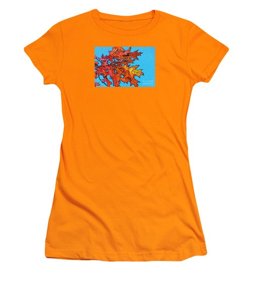 Autumn Leaves 14 Women's T-Shirt (Athletic Fit)