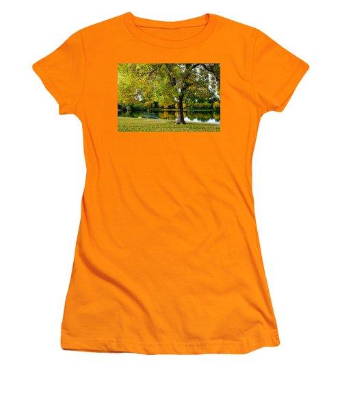 Autumn Repite Women's T-Shirt (Junior Cut) by John McArthur