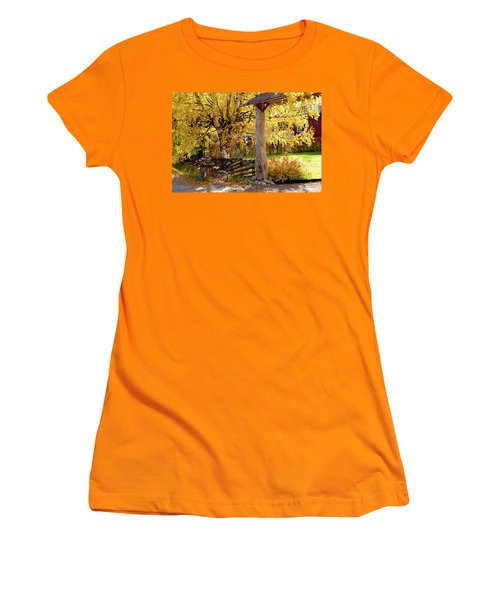 Rural Rustic Autumn Women's T-Shirt (Athletic Fit)