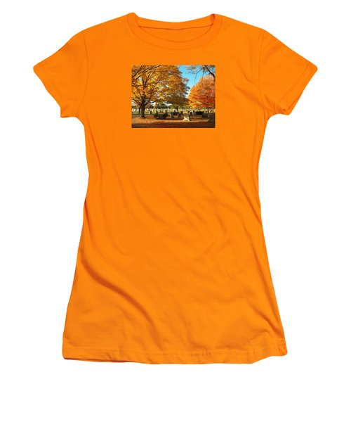 Awaiting Winter's Chill Women's T-Shirt (Athletic Fit)