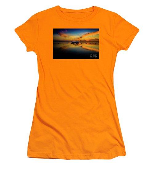 Bali Sunrise 3 Women's T-Shirt (Junior Cut) by M G Whittingham
