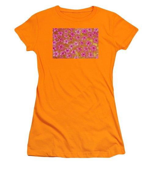 Balinese Flowers Women's T-Shirt (Junior Cut) by Cassandra Buckley