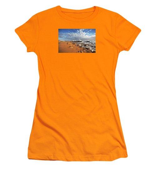 Beach View Women's T-Shirt (Junior Cut) by Robert Och