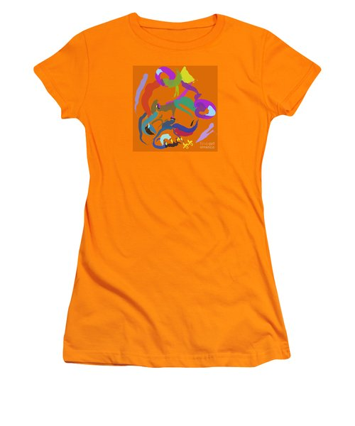 Bear  Women's T-Shirt (Junior Cut) by Go Van Kampen