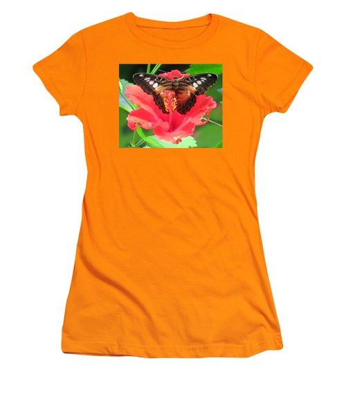 Beautiful Butterfly Women's T-Shirt (Junior Cut) by Betty Buller Whitehead
