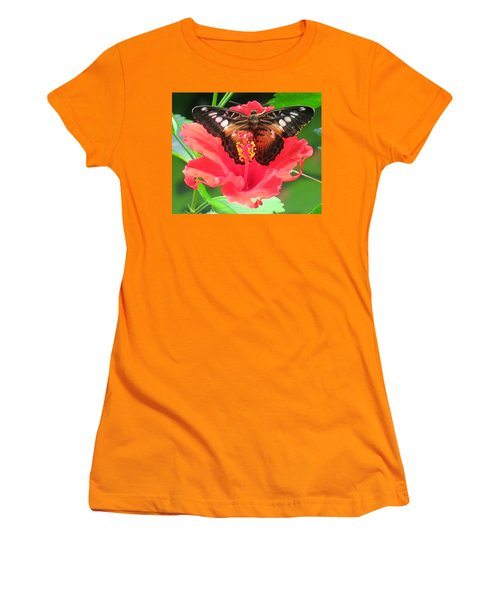 Beautiful Butterfly Women's T-Shirt (Athletic Fit)